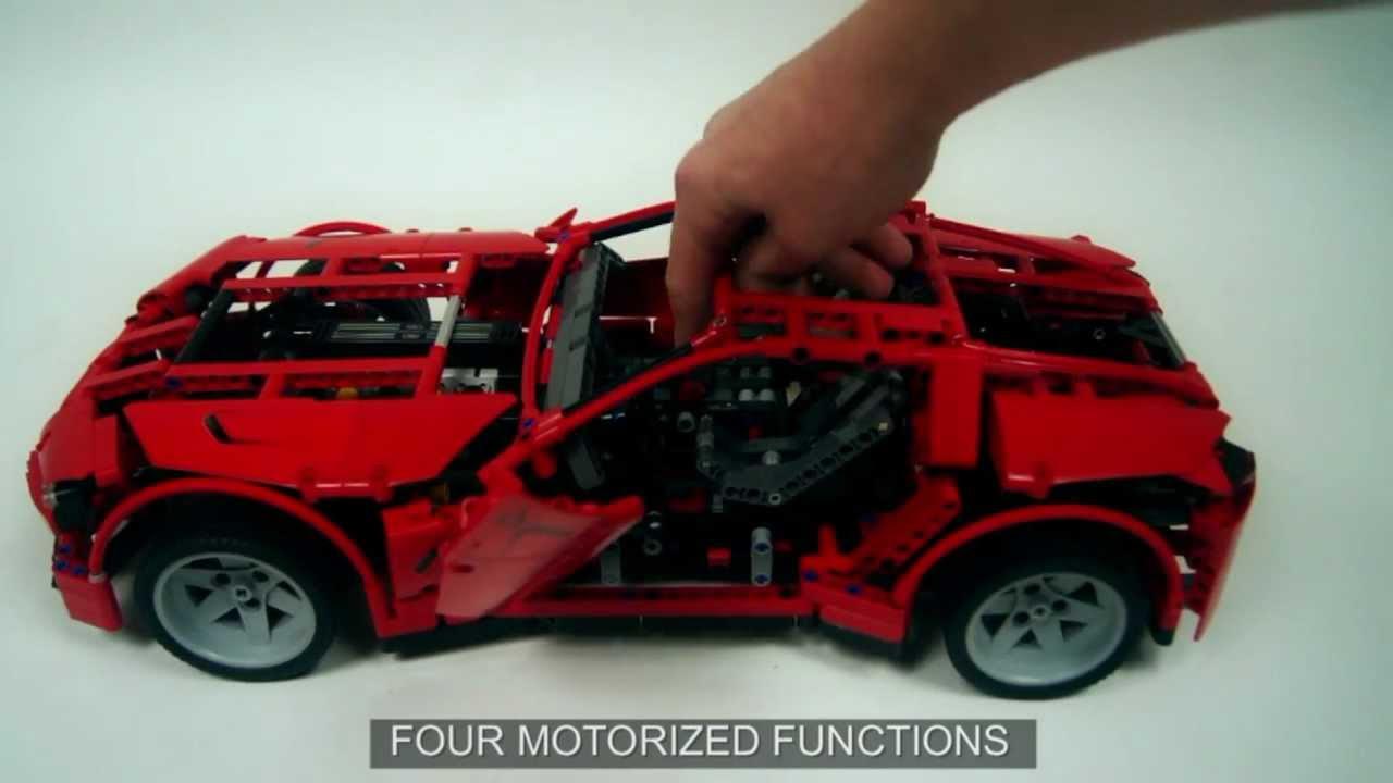 lego technic 8070 super car set youtube. Black Bedroom Furniture Sets. Home Design Ideas