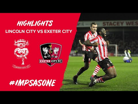 Lincoln City v Exeter City