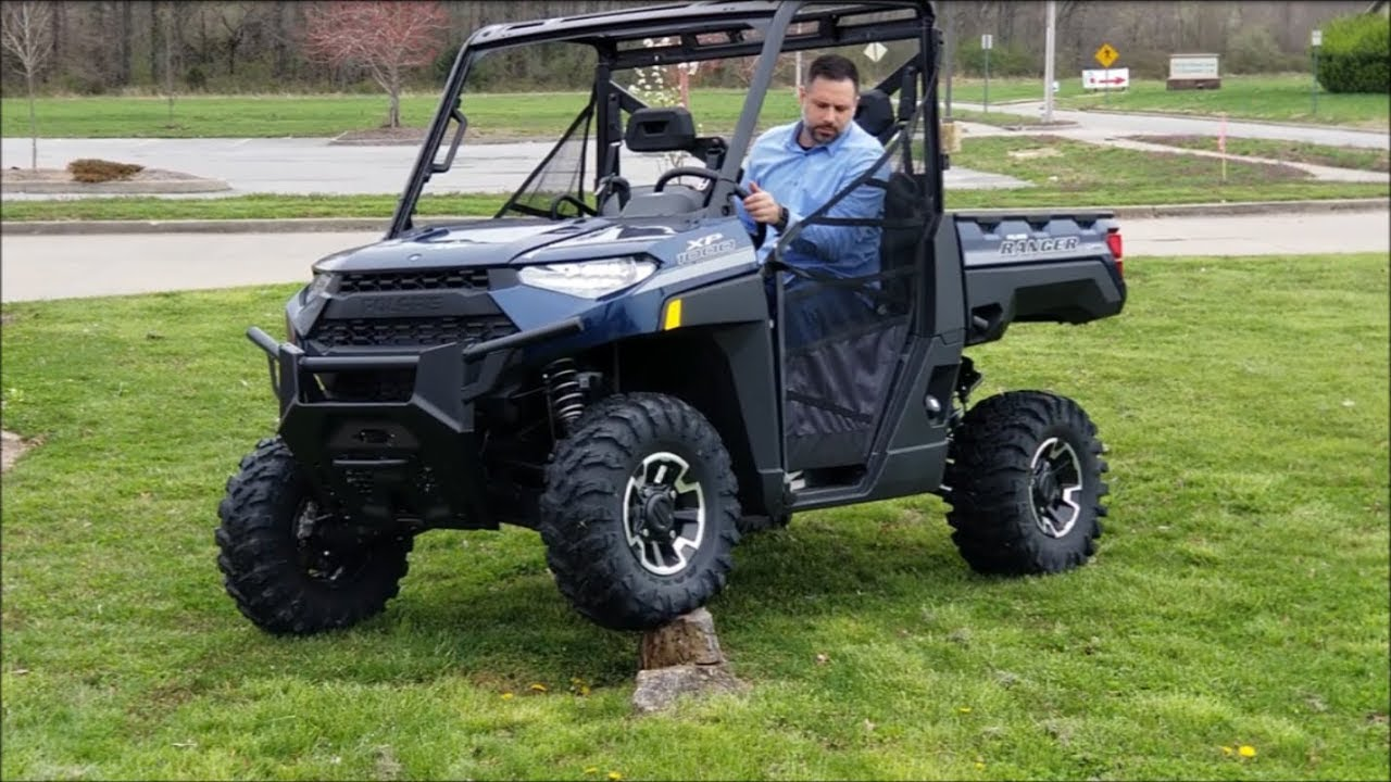 2019 Polaris Ranger XP 1000 in depth look and test drive!