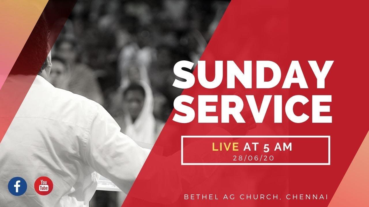 🔴Bethel AG Sunday Service   28/06/20   Online Service   Bethel Media   Rev. J. Kalai Devadasan