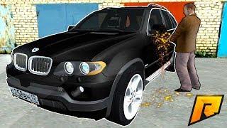 УГОН НОВЕНЬКОГО BMW X5 И ПРОДАЖА НА ЗАПЧАСТИ | CRMP
