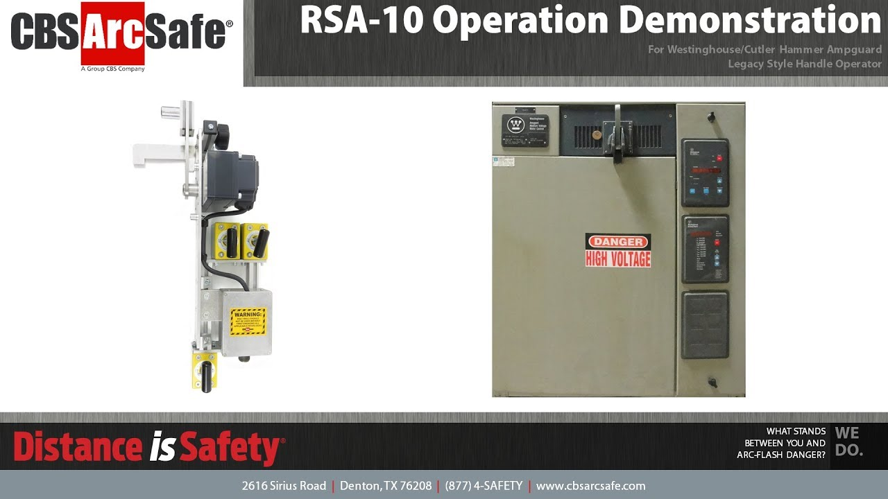 Remote Switch Actuator - RSA-10 - CBS ArcSafe