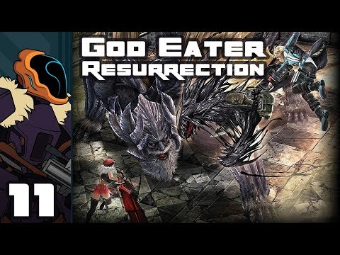 Let's Play God Eater Resurrection - PC Gameplay Part 11 - Look Out Behind You!