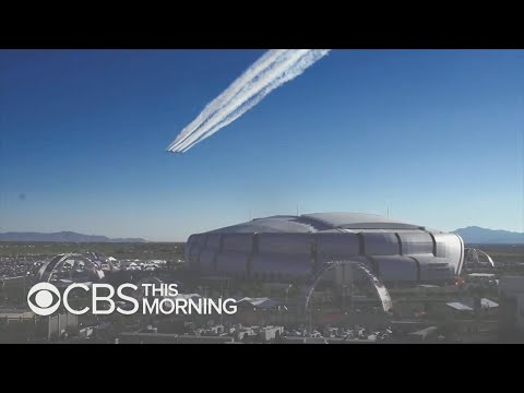 Crystal - VIDEO:  Air Force Thunderbirds Get Shot at Super Flyover