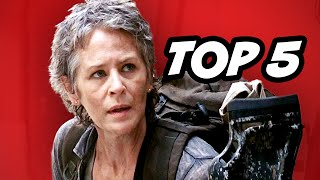 Walking Dead Season 5 Episode 6 - TOP 5 WTF Moments