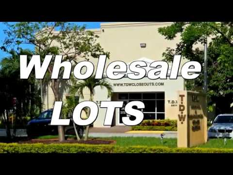 TDW Closeouts (Wholesale Lots) Department Store Closeout Liquidation Challenge