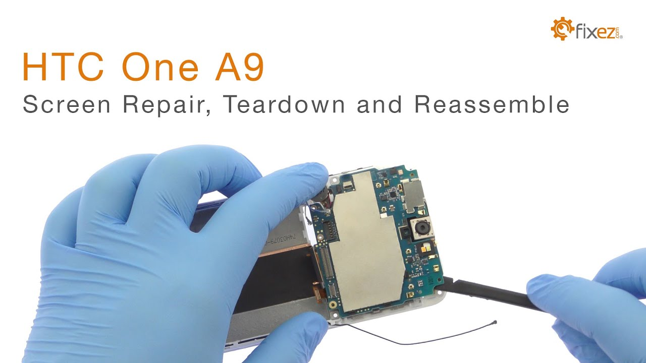 HTC One A9 Power and Volume Buttons Flex Cable | Fixez com
