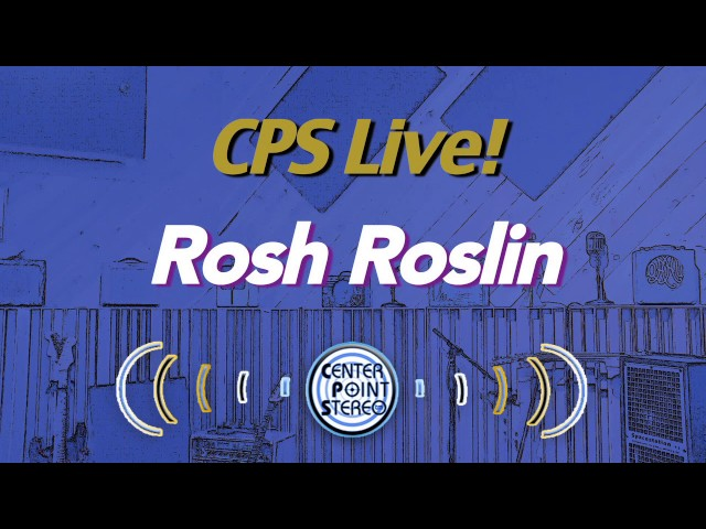 CPS Live! presents Guitarist Rosh Roslin and the Fractal Designs Axe II FXL with the CPS V.3!