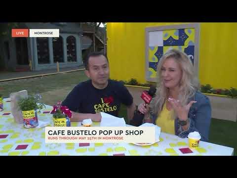 Cafe Bustelo Pop Up