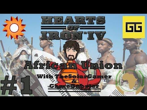 HOI4 - Millennium Dawn Zimbabwe | African Union with TheSolarGamer & GameGabster #1