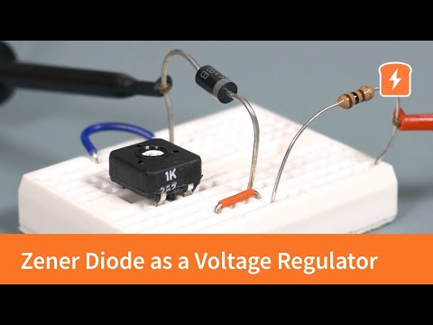 Practical Example Of Zener Diode As A Voltage Regulator | Intermediate Electronics