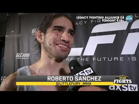 Ron Kruck Chats With Roberto Sanchez & Jerome Rivera Before LFA 14