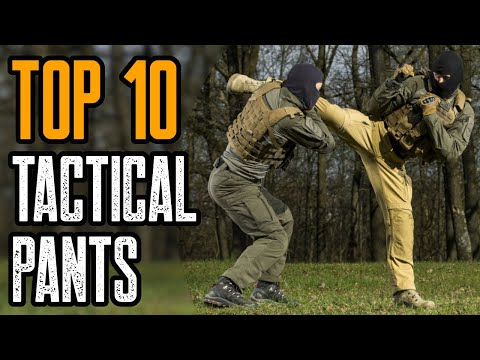 TOP 10 BEST TACTICAL PANTS FOR THE MONEY 2020