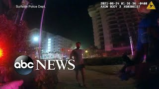 Newly released video shows chaotic moments after Surfside condo collapse   WNT