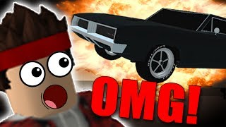 I DESTROYED A LUXURY CAR IN A CRUSHER?? -ROBLOX Car Crushers!