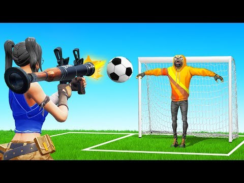 Playing *TABLE FOOTBALL* In Fortnite?!