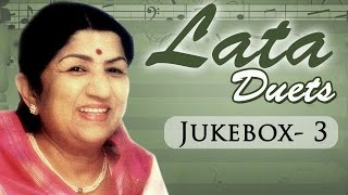 Non Stop Lata Mangeshkar Duets - Jukebox -3 - Top 10 Lata Old Hindi Songs