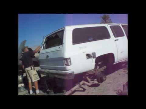 Suburban Tailgate Removal Struggle 10 31 14