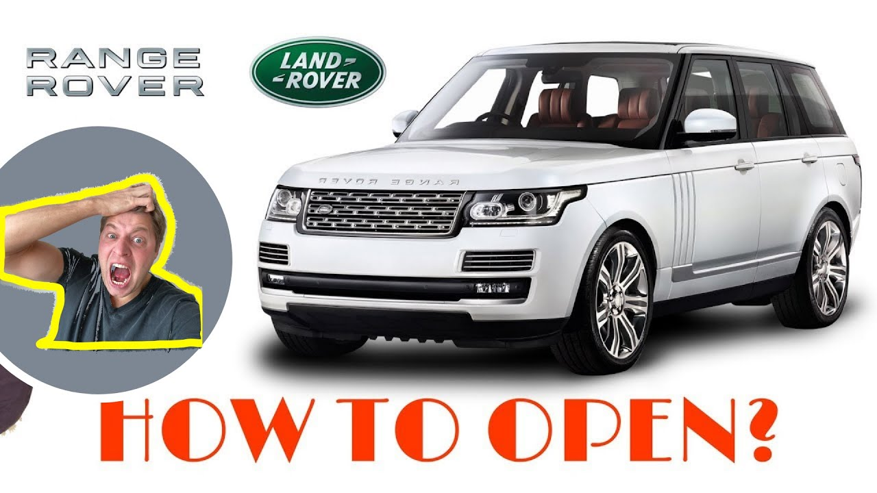RANGE ROVER / LAND ROVER HOW TO OPEN, UNLOCK AND START AND CHANGE THE FOB  BATTERY