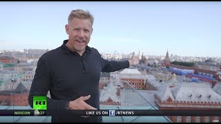 The Peter Schmeichel Show Part 1: Legendary goalkeeper explores World Cup host cities (Moscow)
