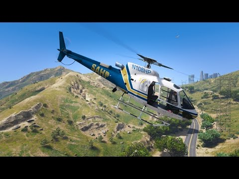 LSPDFR - Day 495 - SAHP Helicopter