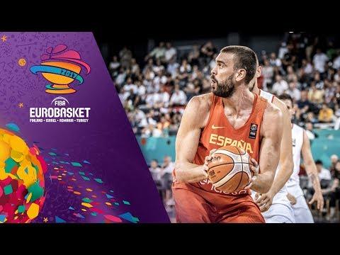 Hungary v Spain - Highlights - FIBA EuroBasket 2017