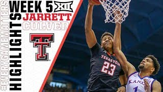 Jarrett Culver | Texas Tech's Leading Man