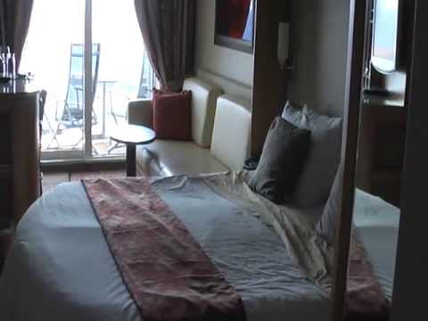 Balcony Cabin on the Celebrity Eclipse: Obstructed View ...