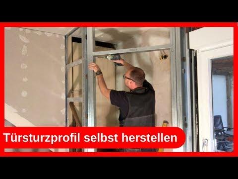 türsturz-profil-metall-ständerwand-selbst-herstellen-/-trockenbau---dachausbau-diy