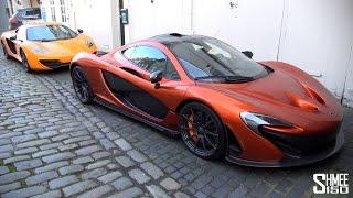 McLaren Family - P1, 650S, 12C, New Arrivals in London