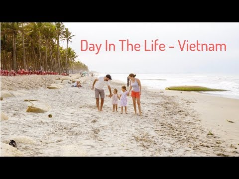 Day in the life of our Digital Nomad Family - Hoi An, Vietnam