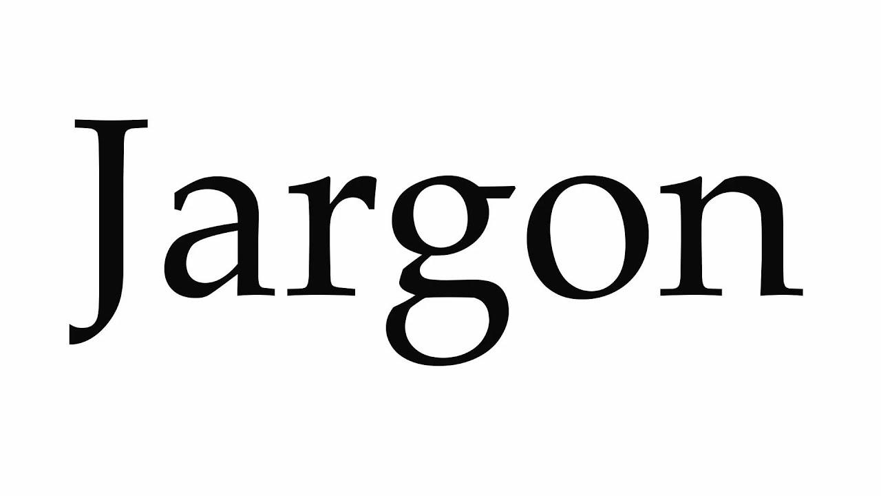 Pronunciation How To Pronounce Jargon Youtube
