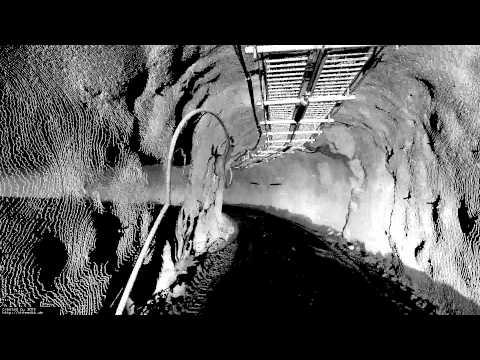 Robots explore dangerous mines in Chile