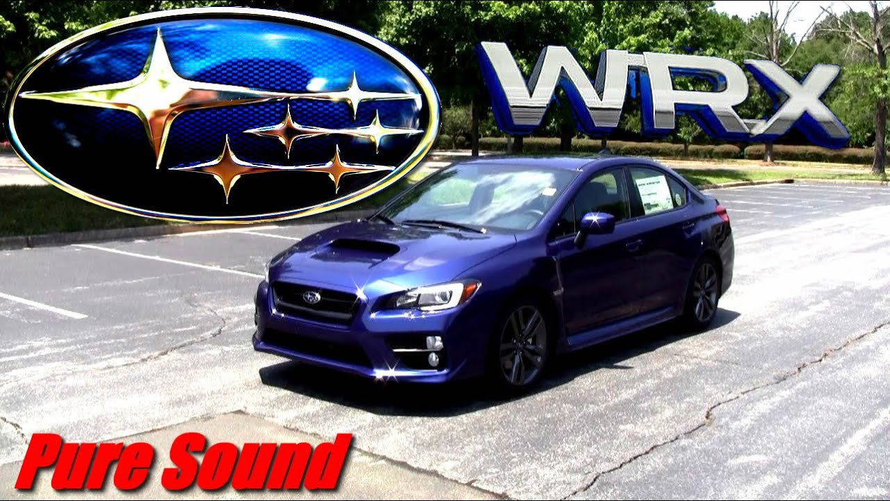 2017 Wrx Limited >> 2017 Subaru WRX Limited - YouTube