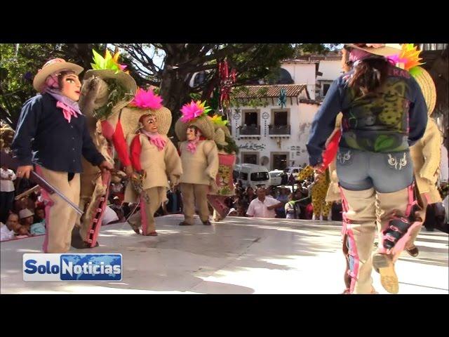 La danza en arte sin distinción de género, se presenta en Taxco la danza de Tlacololeras