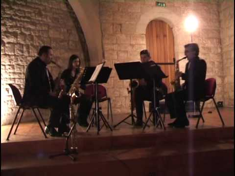 When The Saints Go Marching In (arranged By Lennie Niehaus) - Mediterraneo Saxophone Quartett