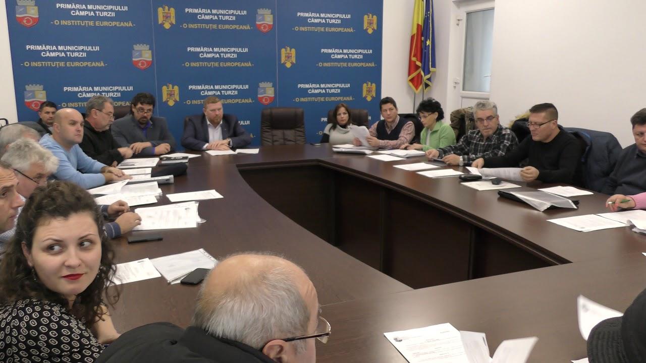 Consiliul Local Câmpia Turzii - ședință de îndată (19.12.2018)