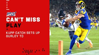 Jared Goff Drops Dime to Kupp to Set Up Gurley TD