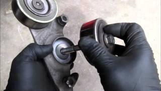 Honda Odyssey serpentine belt tensioner replacement