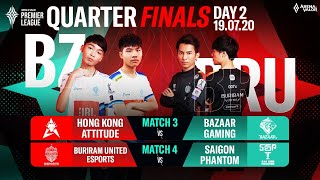 Quarter Finals APL 2020 | Day 2