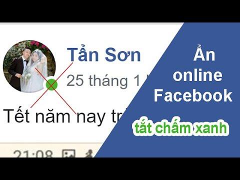 Cách ẩn online facebook và messenger trên điện thoại (tắt chấm xanh)