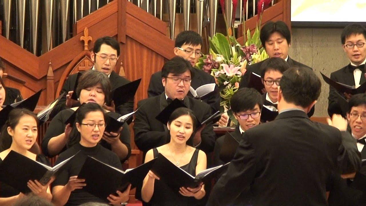 蕭泰然教授追思音樂會福爾摩沙合唱團合唱:和平的使者 - YouTube