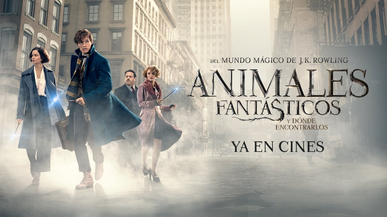 Animales Fantasticos Y Donde Encontrarlos Trailer Final Castellano Hd