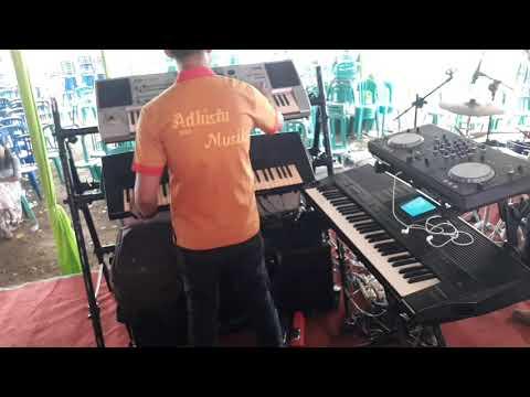Adhista - Muara kasih bunda (Keyboard player 1 On Cam)   Mr.stwn