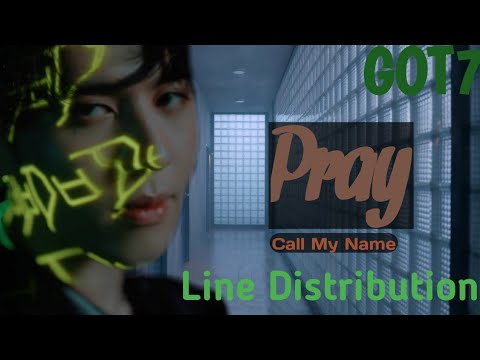 GOT7 - Pray Line Distribution