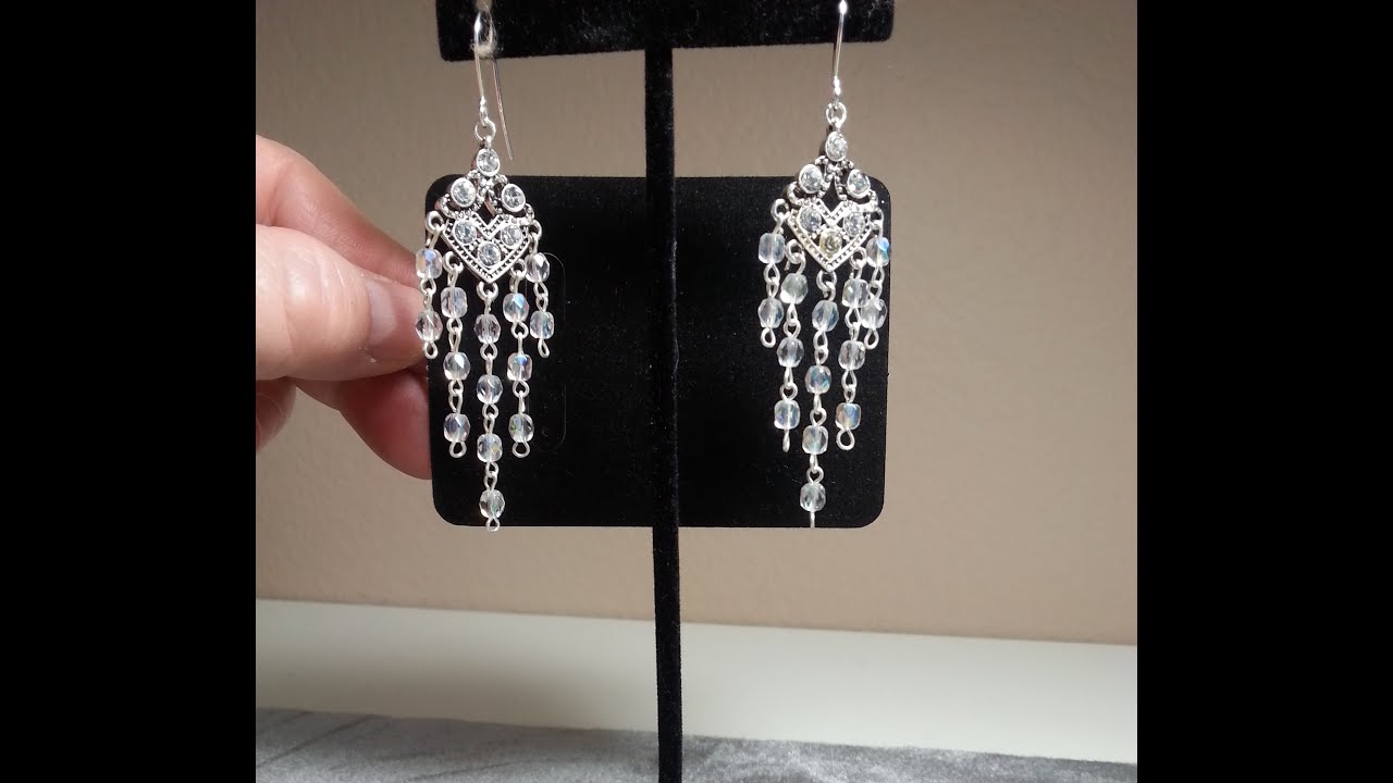 Diygorgeous chandelier earrings using premade rosary chain youtube diygorgeous chandelier earrings using premade rosary chain mozeypictures Images