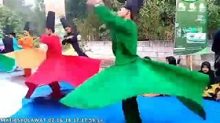 Bukber (1/3) Gus Ali Gondrong dan Penari sufi Mafiasholawat Di Madiun