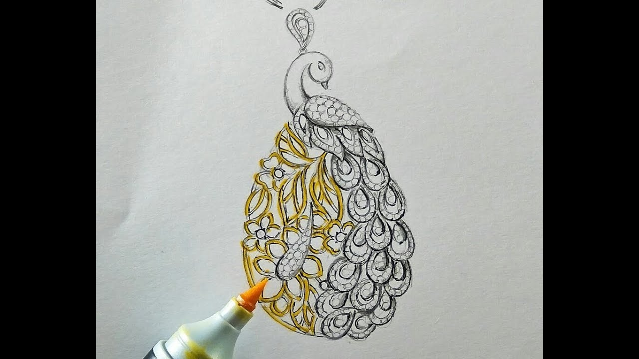Online jewellery designing courses pencil sketching jewelry design