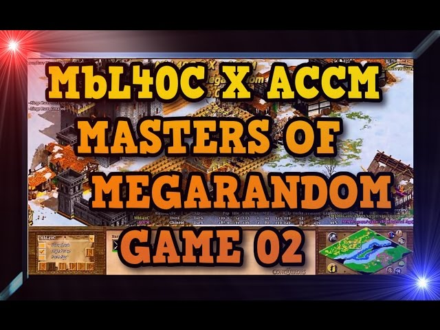 Age Of Empires 2 Hd Mbl40c X Accm Game 02 Momr Round2 Aoe2hd Gameplay Pt Br