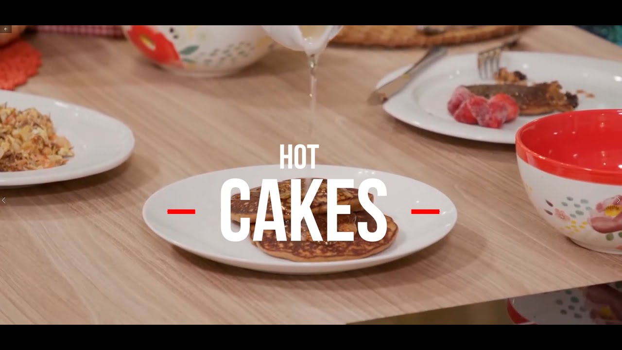 HOT CAKES PARA ADELGAZAR